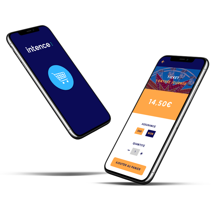 Intence - e-ticketing - parcs d'attractions